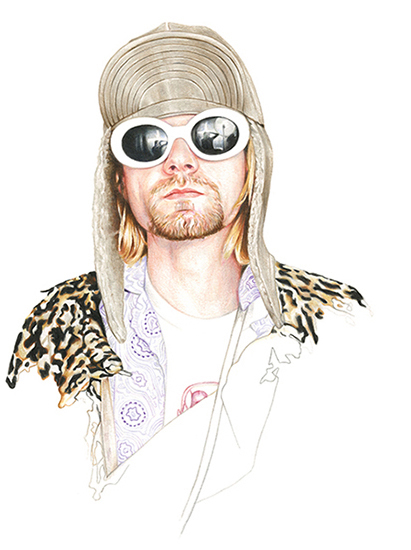Kurt Cobain for Highsnobiety 09