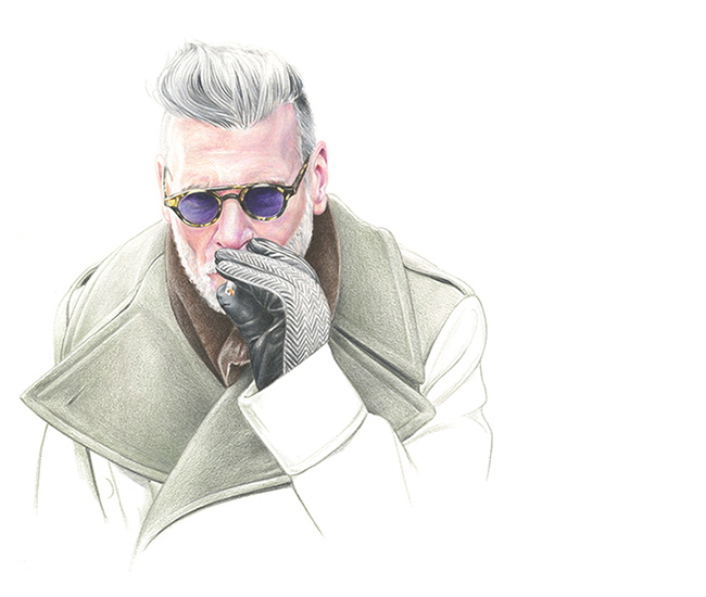 Nick Wooster for Highsnobiety Online