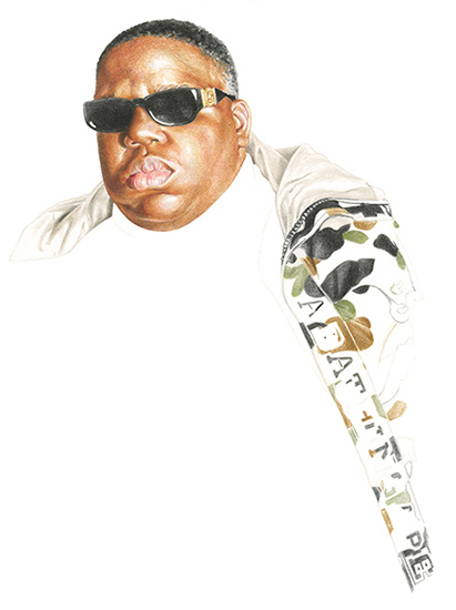 The Notorious B.I.G. for Highsnobiety 09